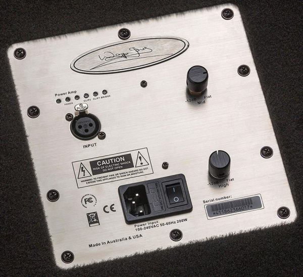 Control plate for 1000 Watt 2x10 Powered Bass Cabinets The WJ 2x10 Now you can have a 1000 Watt compact, portable Hi End, High Powered, Full Range Bass Cabinet that only requires a pre-amp, your bass & yourself. Or spoil yourself with 2 cabinets & have 2000 watts in 4x10's