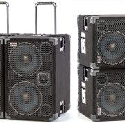 WJ 2x10 Pair of Powered Bass Cabinets - Wayne Jones AUDIO Shop