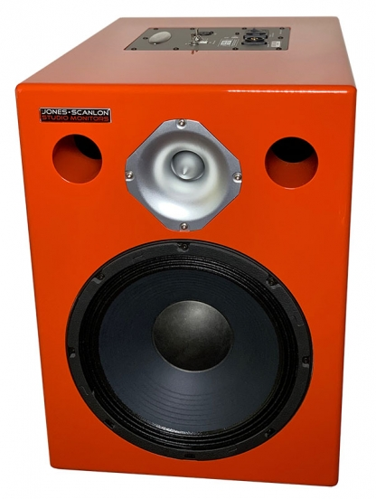 Jones-Scanlon - 1x10 Studio Monitors, bi-amped with DSP